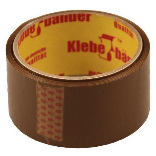 Лента клейкая Klebebander коричневая 57000х50x0,04 мм