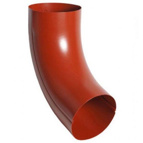 Отвод трубы Aquasystem D125/90 мм RR 29 красный
