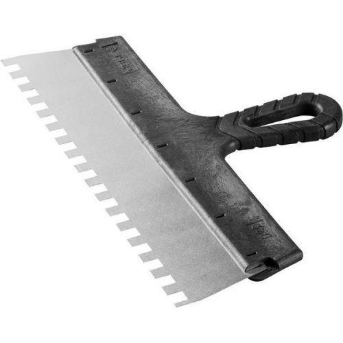 Шпатель зубчатый Зубр Мастер 10078-35-10 350 мм зуб 10х10 мм