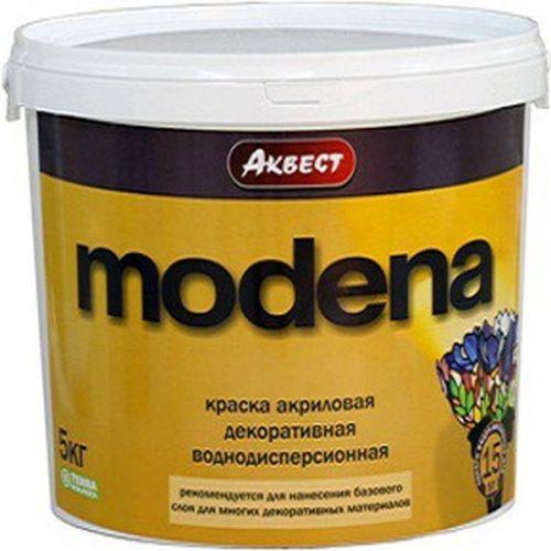 Краска акриловая Аквест Modena 5кг