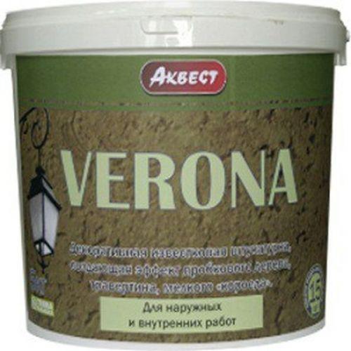 Декоративная известковая штукатурка Аквест Verona 7кг