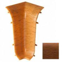 Угол внутренний для плинтуса ПВХ T.plast 108 Орех 1 штука