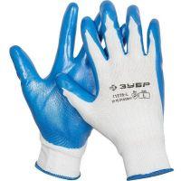 Перчатки Зубр Мастер 11276-L маслостойкие для точных работ