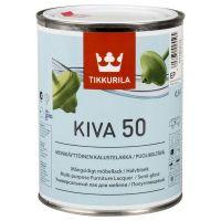 Лак Tikkurila Kiva 50 полуглянцевый 0,9 л