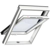 Окно мансардное Velux Optima Комфорт Пластик GLP 0073BIS (CR02) 550х780 мм ручка снизу