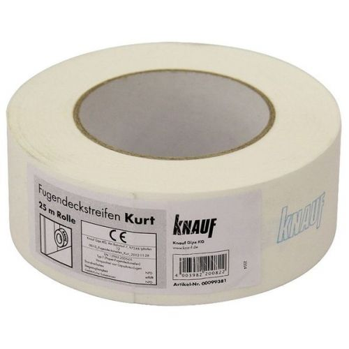 Лента армирующая Кнауф Курт бумажная 75000x50x0.2 мм