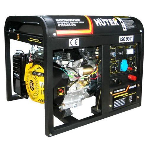 Электрогенератор сварочный бензиновый Huter DY6500LXW 64/1/18