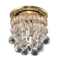 Светильник встраиваемый Novotech Drop 369329 NT09 174 золото/прозрачный GX5.3 50W 12V