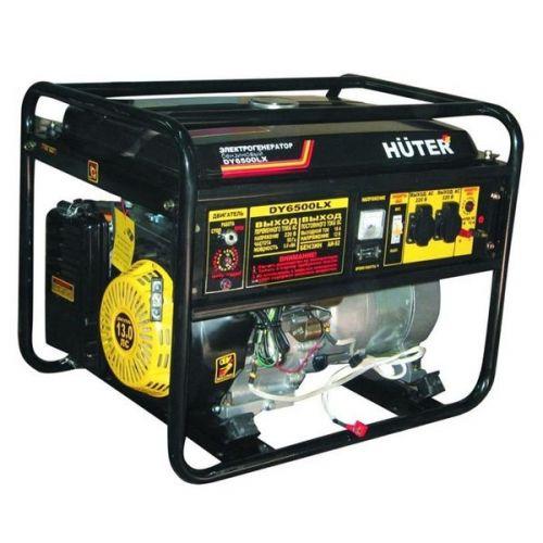 Электрогенератор бензиновый Huter DY6500LX 64/1/7