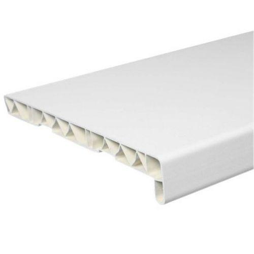 Подоконник ПВХ Нико-Пласт 400х6000 мм белый