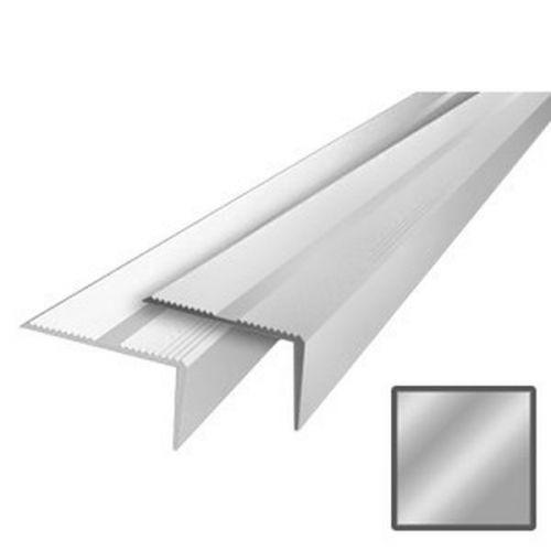Порожек алюминиевый ДПУ4 40х20х2700 мм серебро
