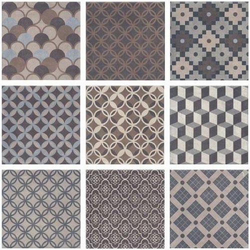Керамическая плитка Kerama Marazzi Карнаби-стрит орнамент 1577T 200x200 мм