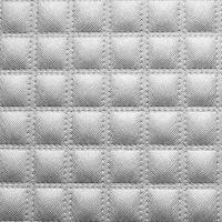 Стеновая панель Sibu Leather Line Quadro Argento 2612х1000 мм самоклеящаяся