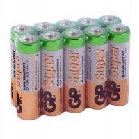 Батарейка алкалиновая GP Batteries Super Alkaline 15А АA 10 шт.