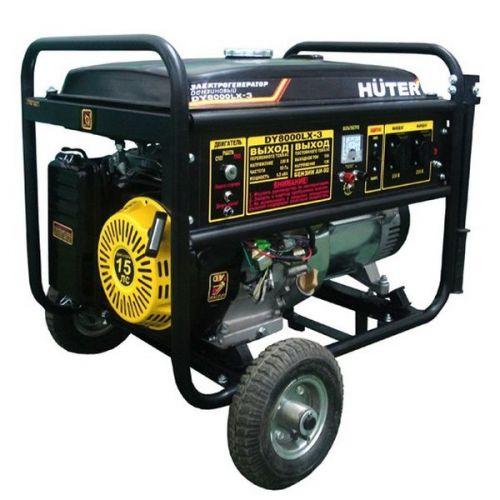 Электрогенератор бензиновый Huter DY8000LX-3 64/1/28