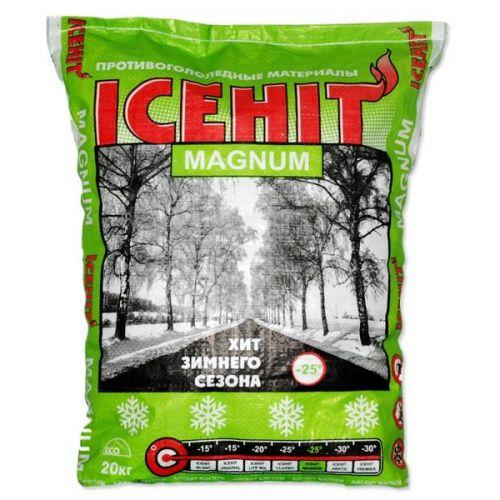 Противогололедный реагент Icehit Magnum 20 кг