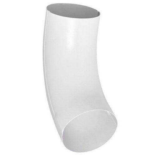 Колено трубы Aquasystem D125/90 мм угол 72 градуса универсальное RR 20 белое