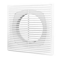 Решетка вентиляционная приточно-вытяжная Era 1825П12Ф белая с фланцем