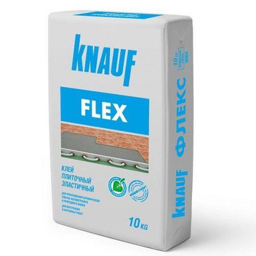 Клей для плитки Knauf Флекс эластичный 10 кг