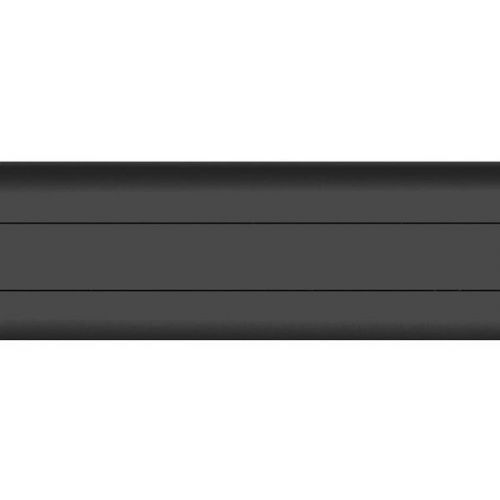 Плинтус ПВХ T.plast 076 черный 2500х58х22 мм