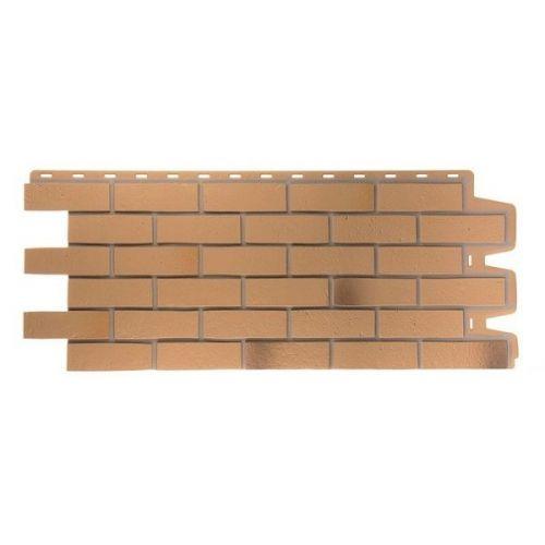 Панель фасадная Docke Berg Goldenberg Кирпич Золотистый 1127х461 мм