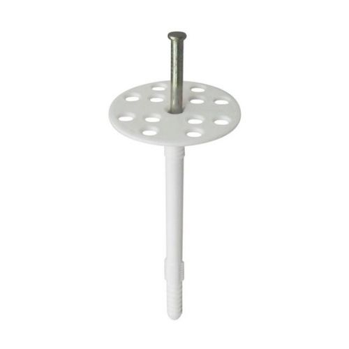 Дюбель для теплоизоляции Tech-Krep IZM 10х160 мм с металлическим гвоздем