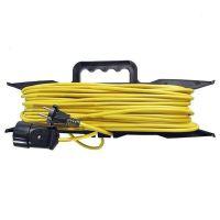 Удлинитель-шнур силовой на рамке Союз 481S-5203 30 м 1 розетка без заземления ПВС 2200 Вт