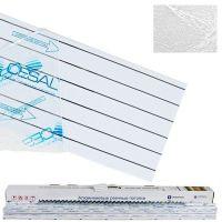 Комплект реечных потолков Cesal S-150 для ванной комнаты 1,7x1,7 м B29 шелк белый
