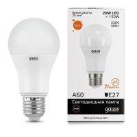 Лампа светодиодная Gauss LED Elementary A60 20W E27 23219