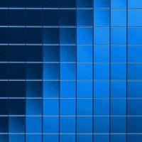 Стеновая панель Sibu Multistyle Sky blue Classic 10x10 2600х1000 мм самоклеящаяся