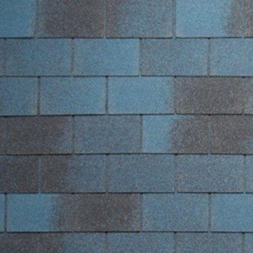 Черепица гибкая Tegola Nordland Классик синяя с отливом