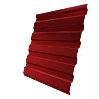 Профнастил С20 Grand Line Pe 0,5 мм RAL 3003 рубиново-красный