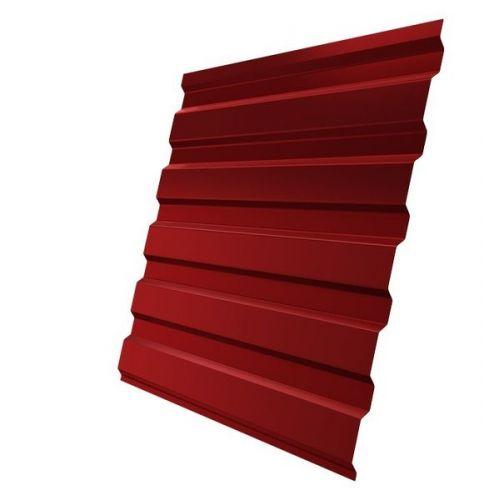 Профнастил С20 Grand Line Optima Pe 0,7 мм RAL 3003 рубиново-красный