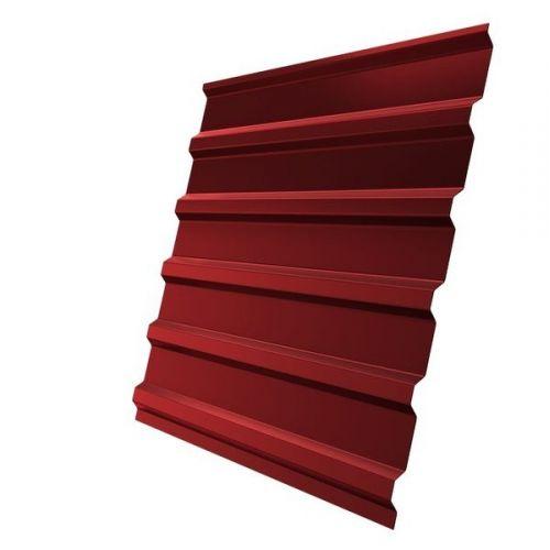 Профнастил С20 Grand Line Optima Pe 0,7 мм RAL 3011 коричнево-красный
