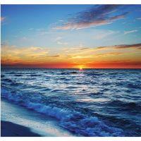 Фотообои виниловые на флизелиновой основе Decocode Море на закате 31-0049-ML 3х2,8 м