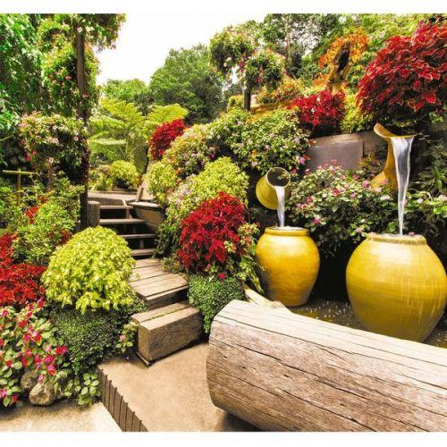 Фотообои виниловые на флизелиновой основе Decocode В саду 31-0269-PG 3х2,8 м