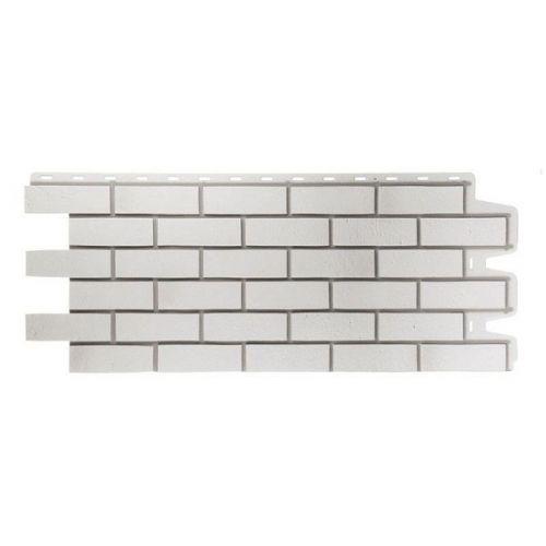 Панель фасадная Docke Berg Grauberg Кирпич серый 1127х461 мм