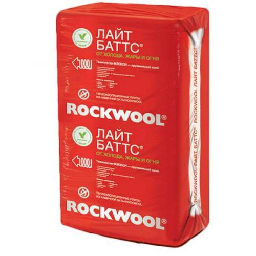 Базальтовая вата Rockwool Лайт Баттс 1000х600х100 мм 5 штук в упаковке
