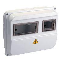 Корпус навесной пластиковый IEK ЩУРн-П 1/3 MSP103-1-55 IP55 с прозрачной крышкой