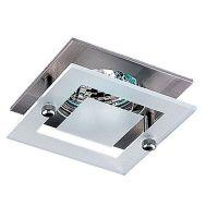 Светильник встраиваемый Novotech Window 369110 NT09 238 никель GX5.3 50W 12V