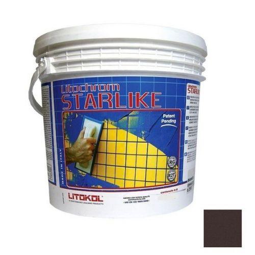 Затирка эпоксидная для швов Litokol Litochrom Starlike C.420 Moka 2,5 кг