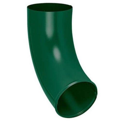 Отвод трубы Aquasystem D150/100 мм RAL 6005 зеленый