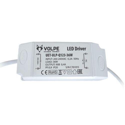 Блок питания Volpe UET-ULP-Q123-36W для светодиодного светильника ULP-Q123 6060-36W