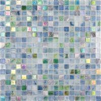 Мозаика из стекла и натурального камня Alma Amber AM504
