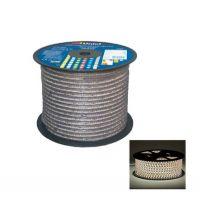 Лента светодиодная герметичная Uniel ULS 3528 60Led IP67 220V 12W теплый белый свет кратность резки 1 м