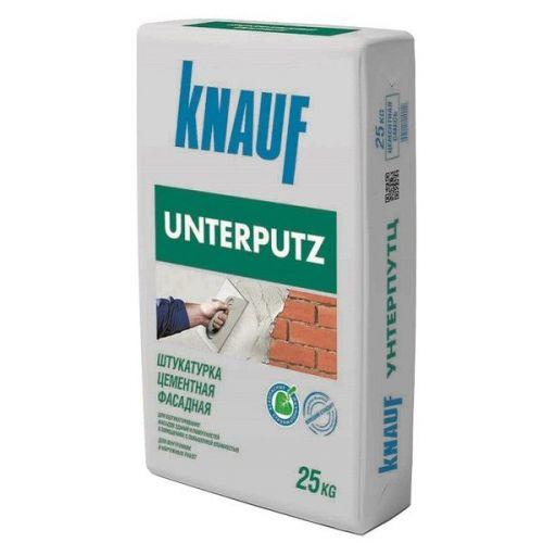 Штукатурка цементная фасадная Knauf Унтерпутц 25 кг