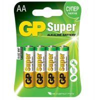 Батарейка алкалиновая GP Batteries Super Alkaline 15А АA 4 шт.