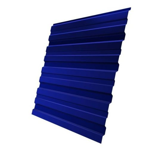 Профнастил С10 Grand Line Optima Pe 0,7 мм RAL 5002 ультрамариново-синий