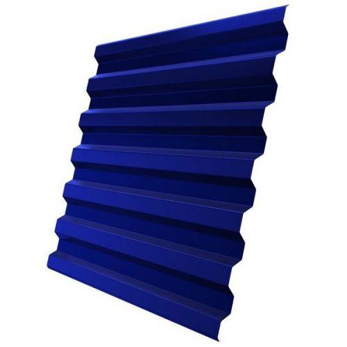 Профнастил С21 Grand Line Optima Pe 0,4 мм RAL 5002 ультрамариново-синий