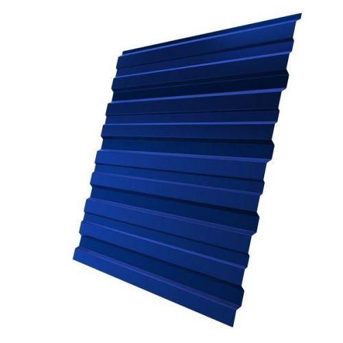 Профнастил С10 Grand Line Optima Pe 0,7 мм RAL 5005 сигнальный синий